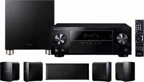 Pioneer HTP-074 5.1 Heimkinosystem (Bluetooth, 3D-fähig, Hi-Res Audio)