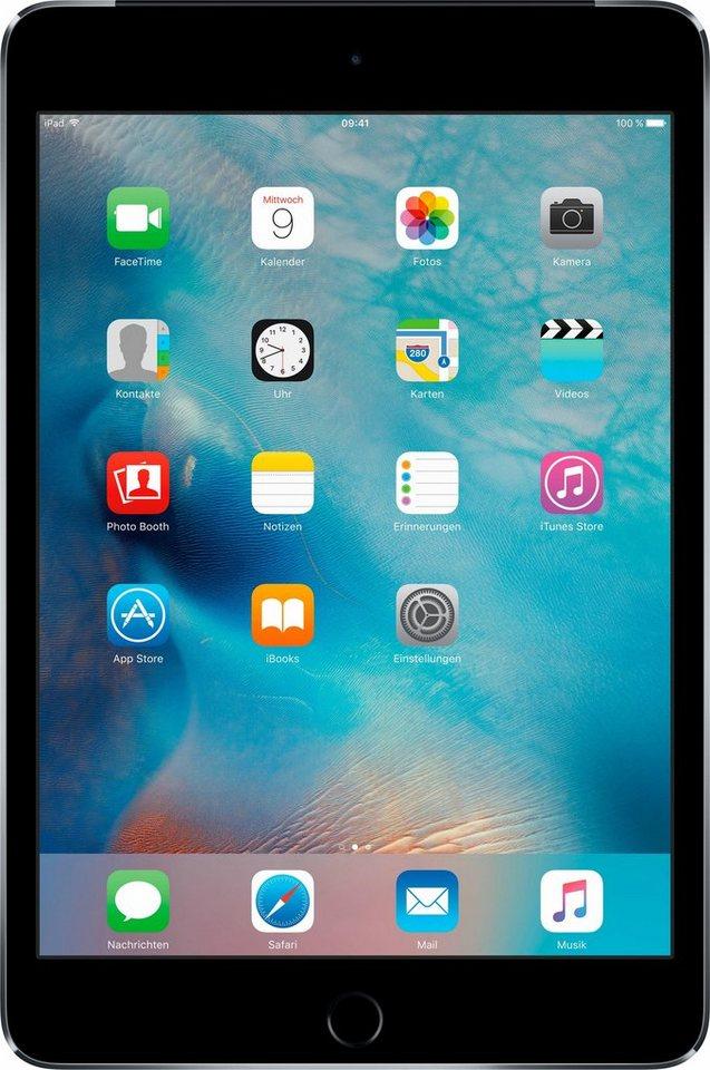 "Apple iPad mini 4 Cellular 7,9"" 32 GB in spacegrau"
