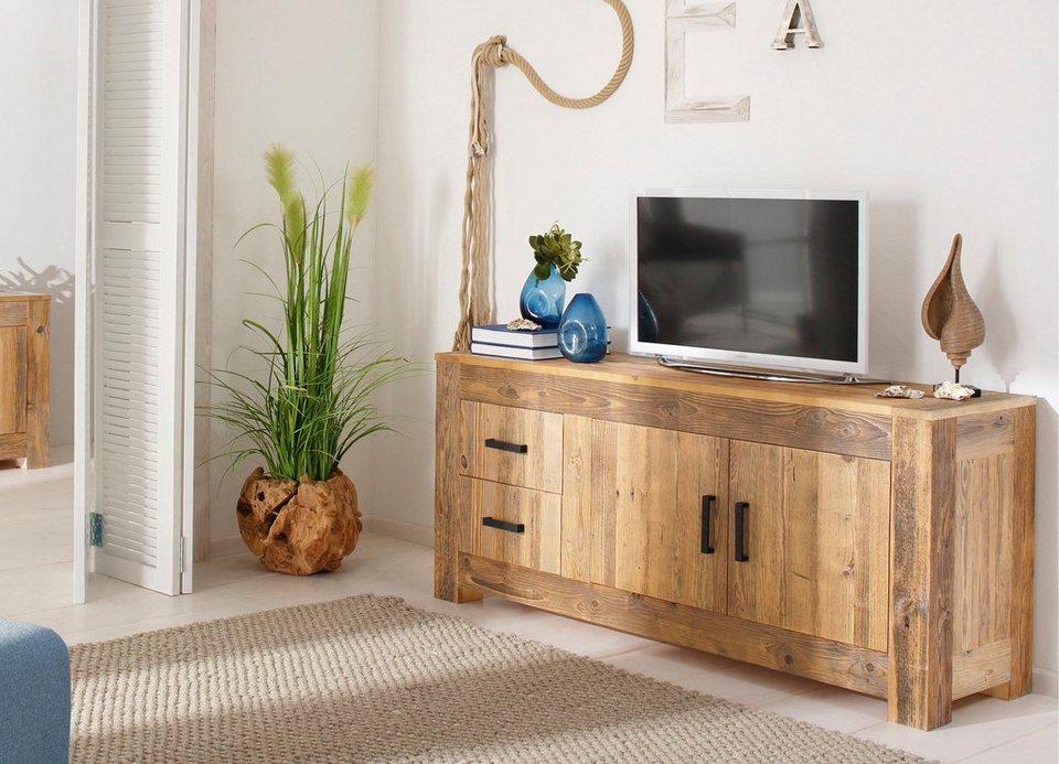 Home affaire Sideboard »Larengo«, Breite 160 cm in natur
