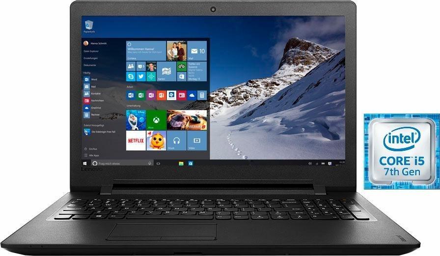 Lenovo IdeaPad 110-17IKB Notebook, Intel® Core™ i5, 43,9 cm (17,3 Zoll), 1000 GB Speicher in schwarz