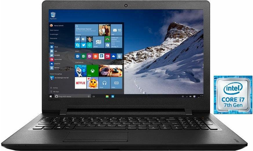 Lenovo IdeaPad 110-17IKB Notebook, Intel® Core™ i7, 43,9 cm (17,3 Zoll), 1000 GB Speicher