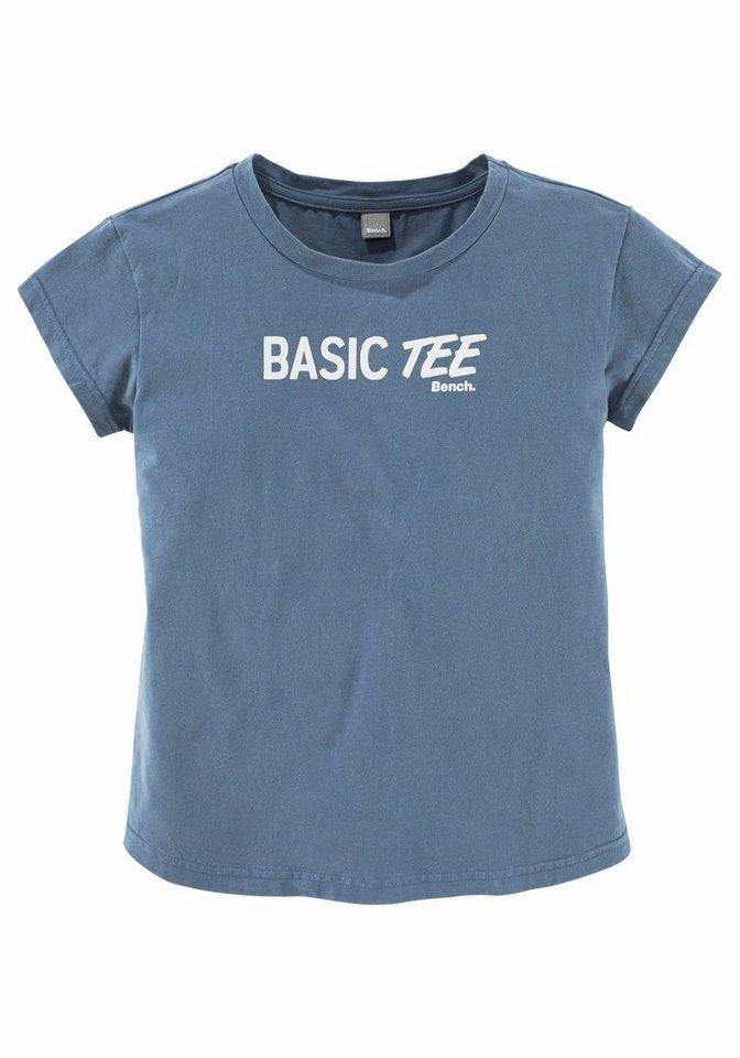 Bench T-Shirt in blau