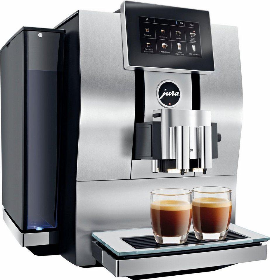 Jura Espresso-/Kaffee-Vollautomat Z8 in aluminium