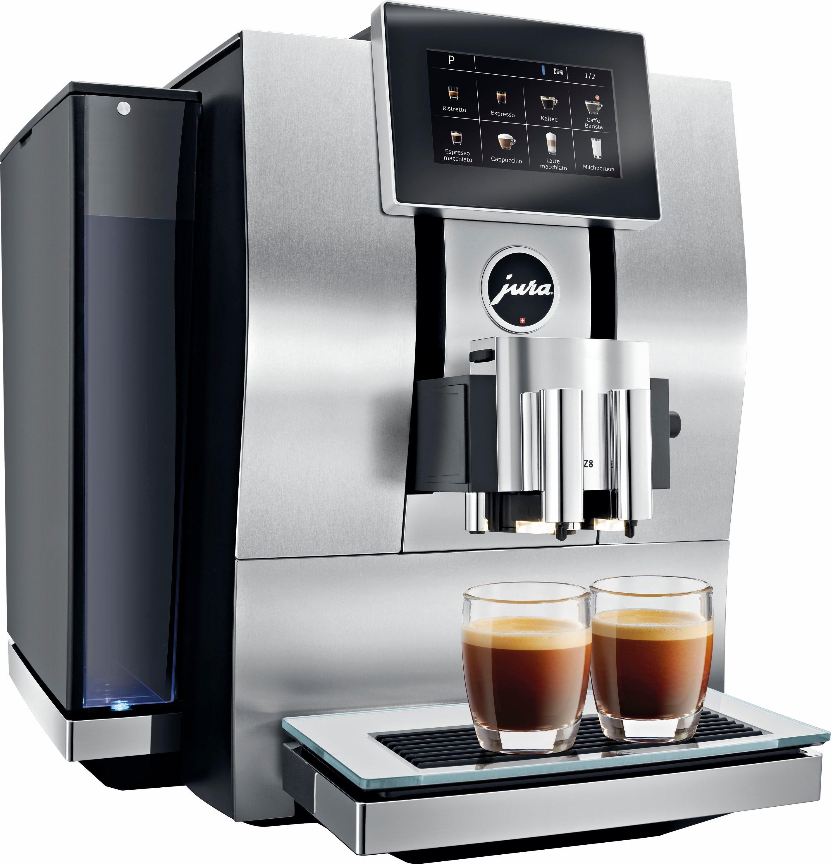 Jura Kaffeevollautomat 15063 Z8, 2,4l Tank, Kegelmahlwerk, App-Steuerung