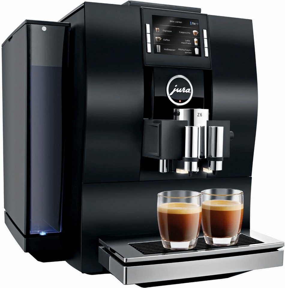 Jura Espresso-/Kaffee-Vollautomat Z6 in aluminium schwarz