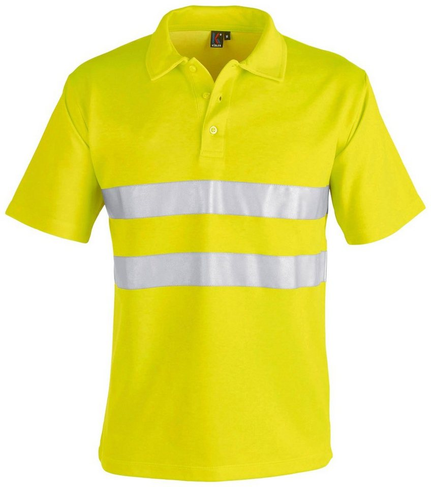 Poloshirt High Vis in neongelb