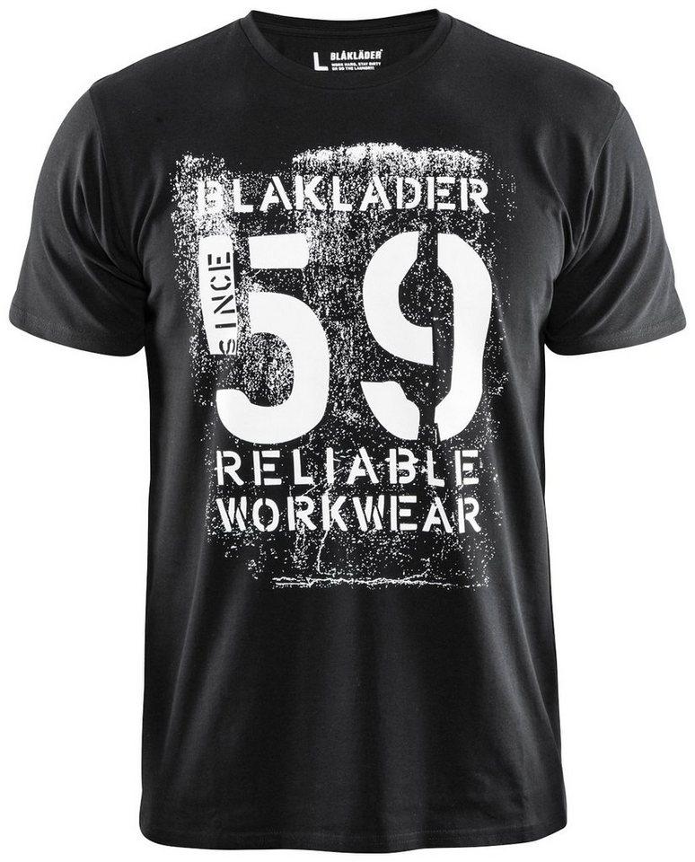 Blaklader T-Shirt »Glaubwürdig« in schwarz