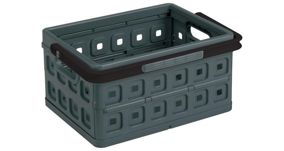 Einkaufskorb »Klappbox 24 Liter«, 2er-Set