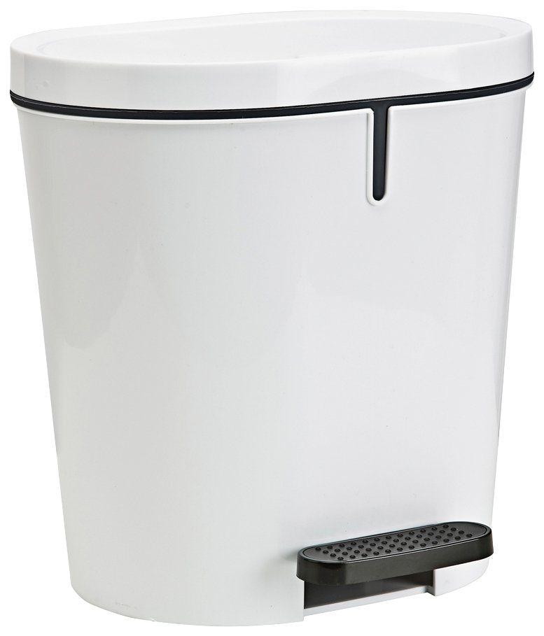 Treteimer »Zamora 8 Liter« in weiß/anthrazit