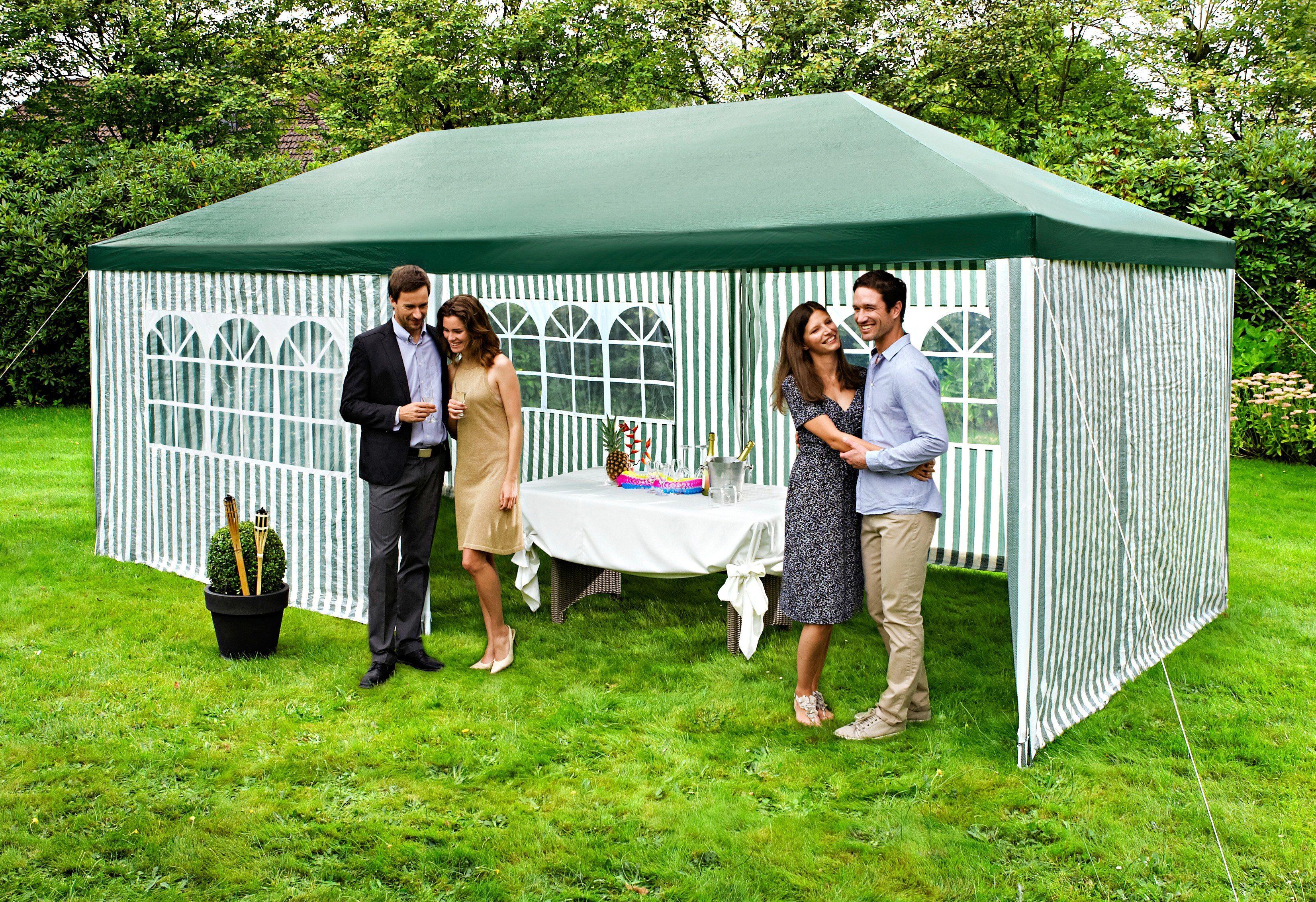 Pavillon »Party«, 300 x 600 cm, grün