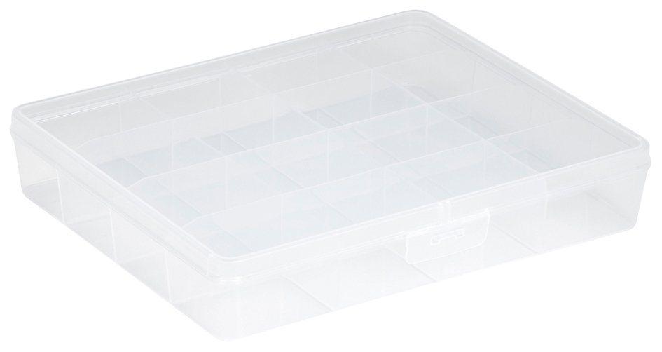 Sunware Aufbewahrungsbox »Sortierbox«, 2er Set in transparent