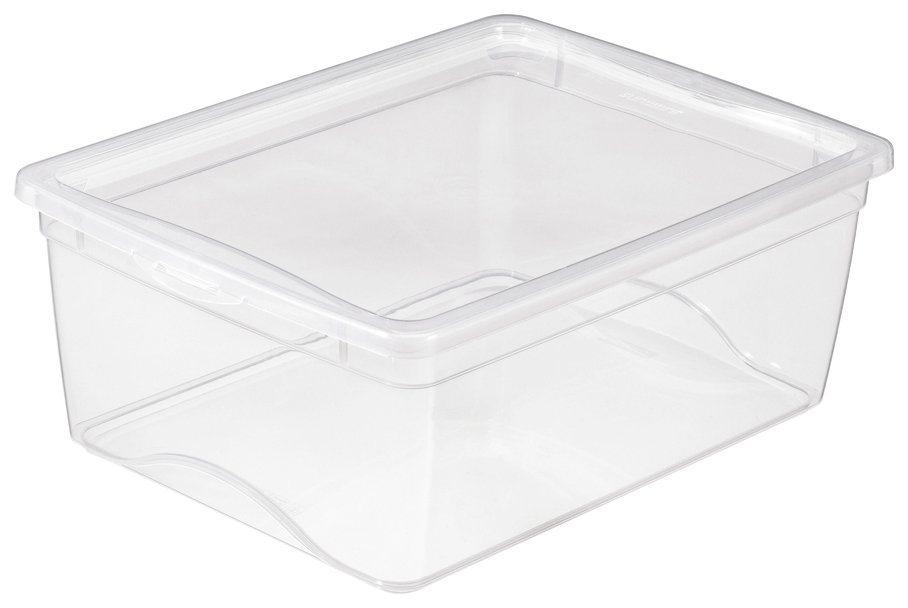 Aufbewahrungsbox »18 Liter«, 2er Set in transparent