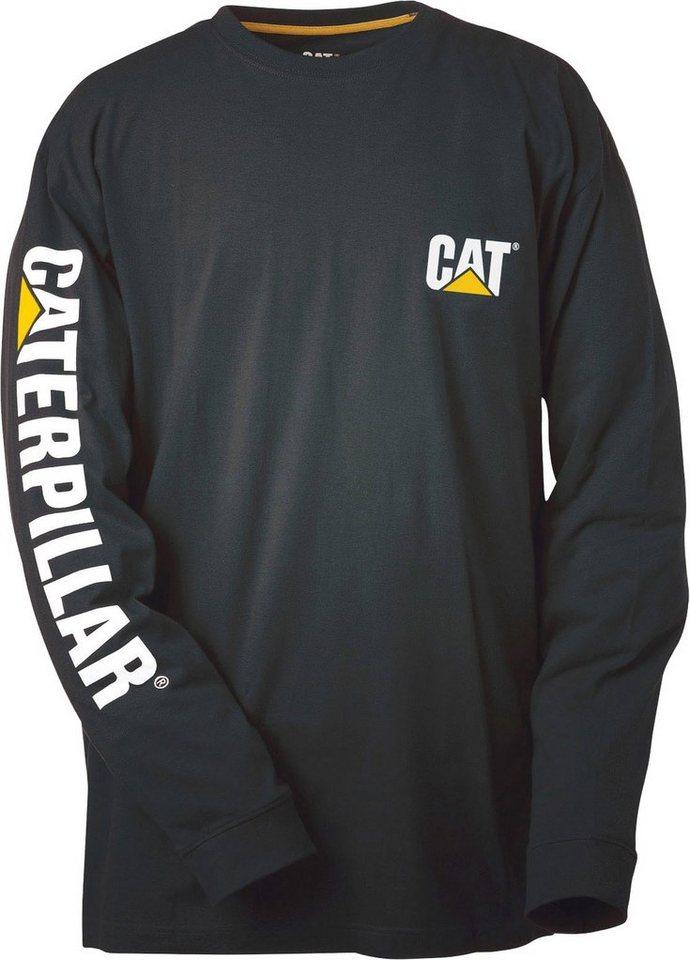 Caterpillar Langsleeve Shirt in schwarz