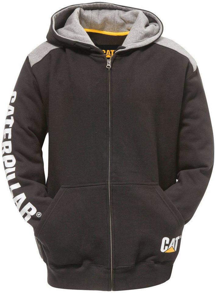 Caterpillar Kapuzenjacke »TRADE« in schwarz