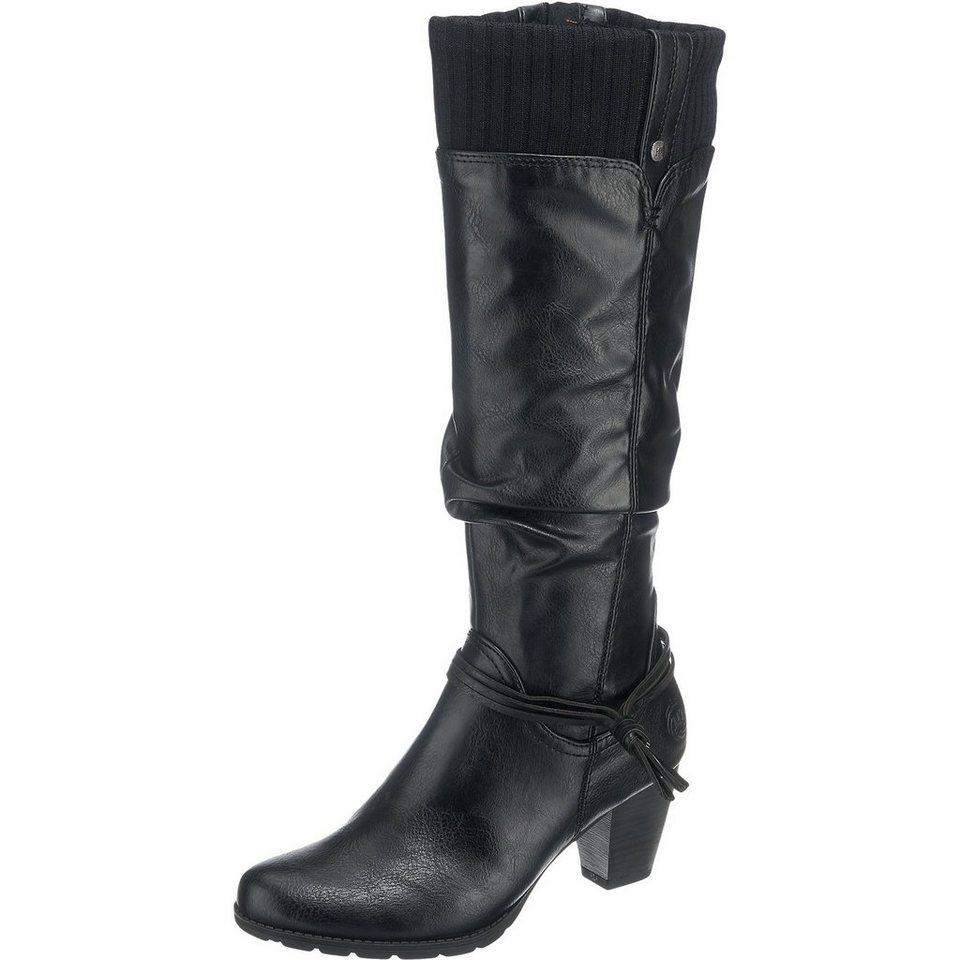 MARCO TOZZI Fisterra Stiefel in schwarz