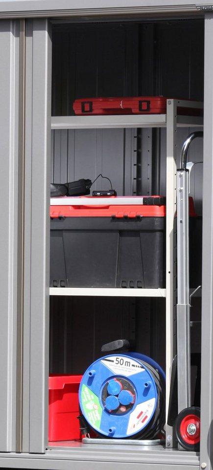 WOLFF Lagerregal , für Geräteschrank 135 in weiß