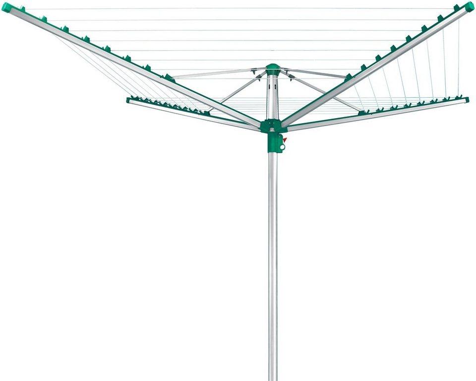 Wäschespinne »Linomatic 500 Comfort« in silberfarben