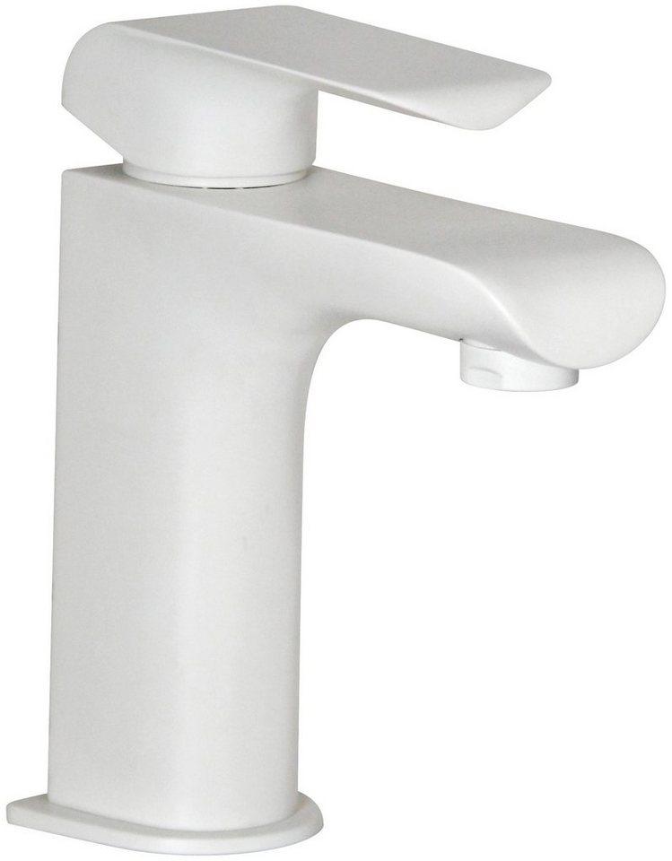 Fackelmann Waschtischarmatur »FLOW« in weiß