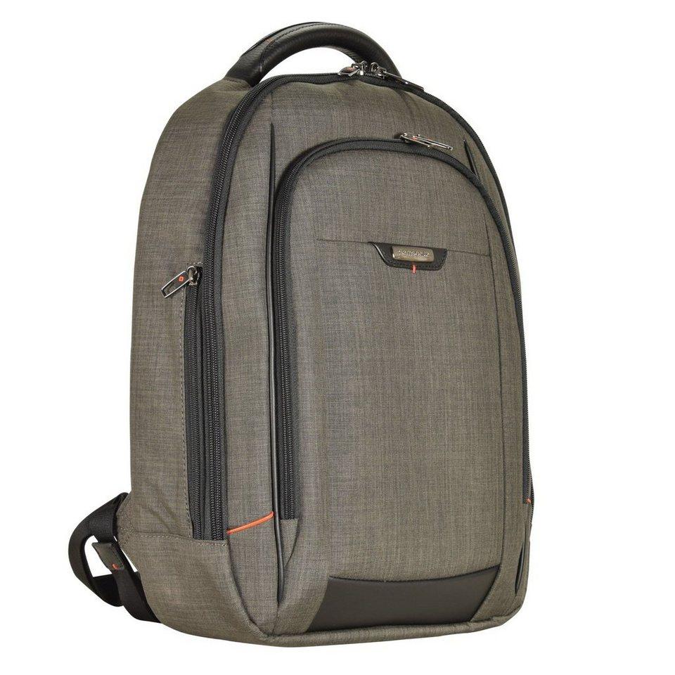 Samsonite Samsonite Pro-DLX 4 Business Rucksack 46 cm Laptopfach in warm grey