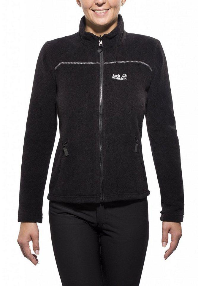 Jack Wolfskin Outdoorjacke »Vertigo Jacket Women black« in schwarz