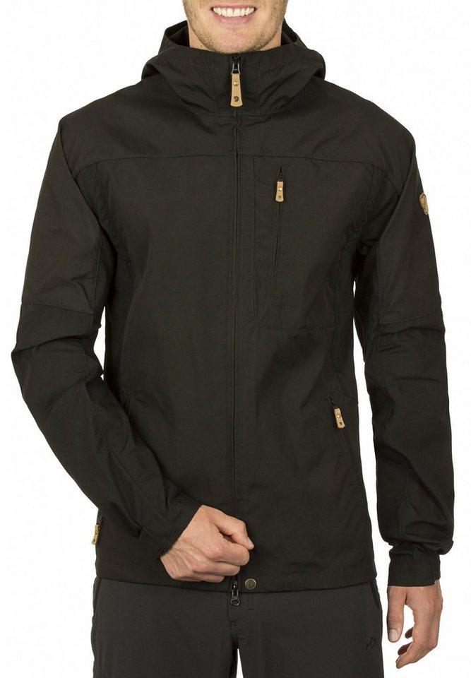 Fjällräven Outdoorjacke »Sten Jacket Men« in schwarz
