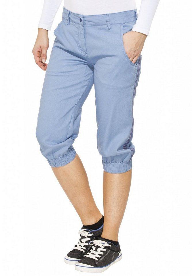 Salewa Hose »Frea 3/4 Pant Women CO/HEMP« in blau