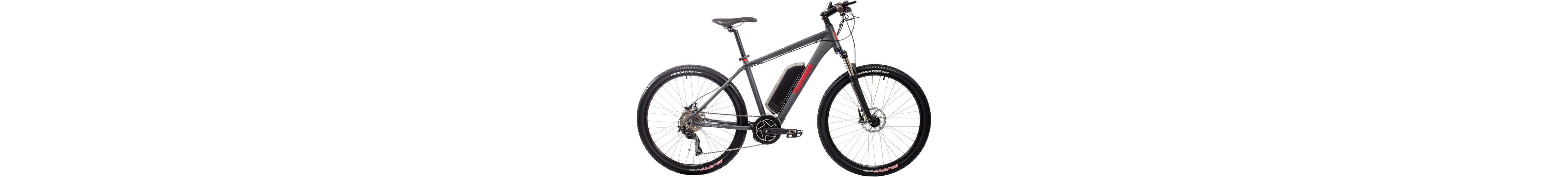 Telefunken Herren Alu Hardtail MTB-E-Bike, 27,5 Z., 10-Gg. Shim. Deore Kettensch., »Aufsteiger M800«
