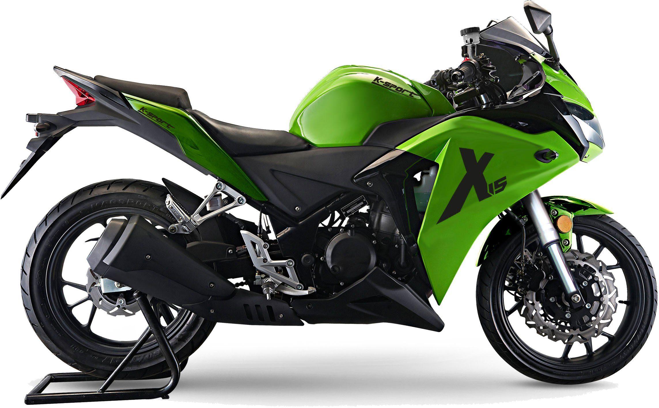 K-Sport Motorrad, 125 ccm, 110 km/h, 12,5 PS, »X15«