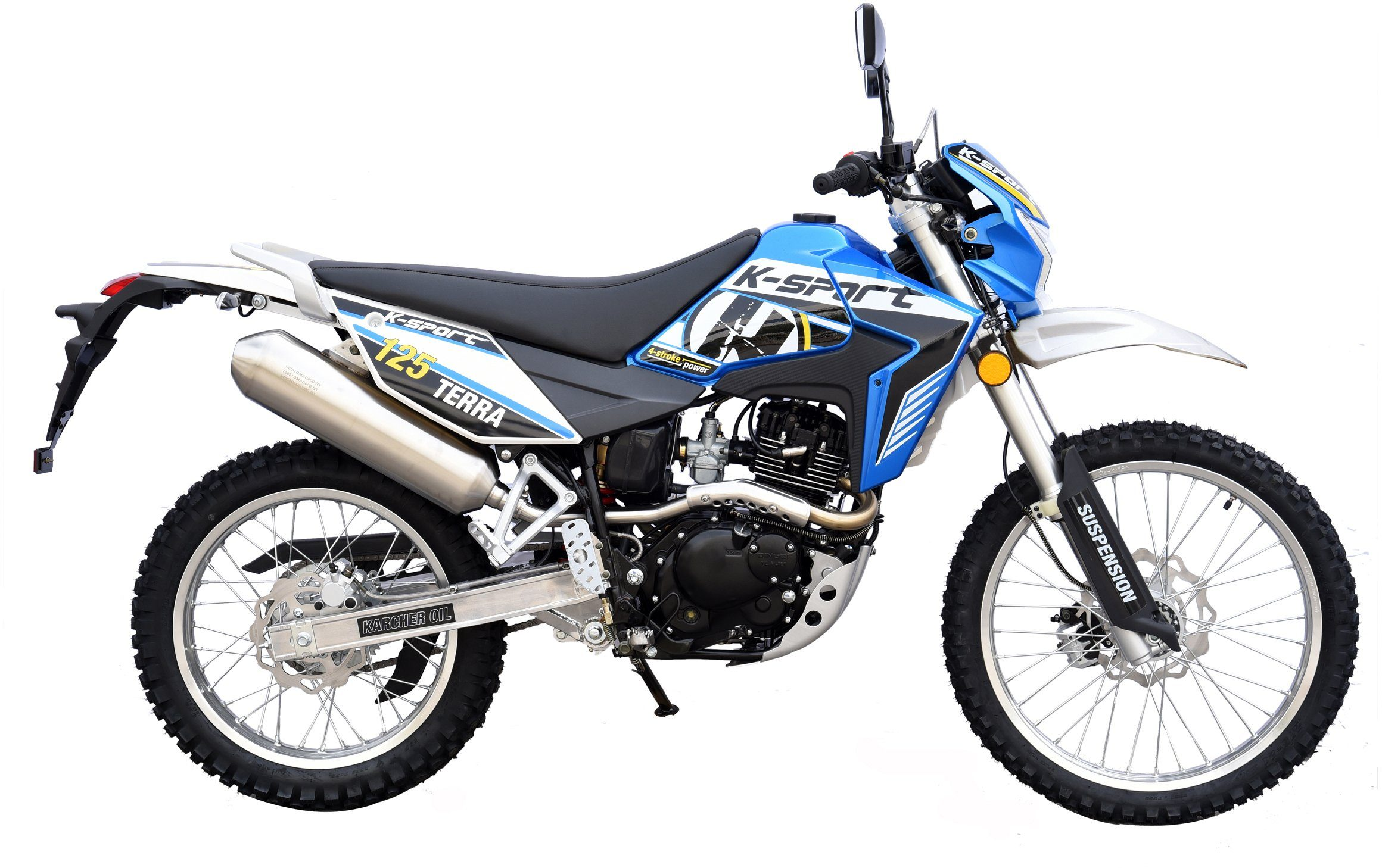 K-Sport Motorrad, 125 ccm, 101 km/h, 11,42 PS, »Terra Enduro 125«