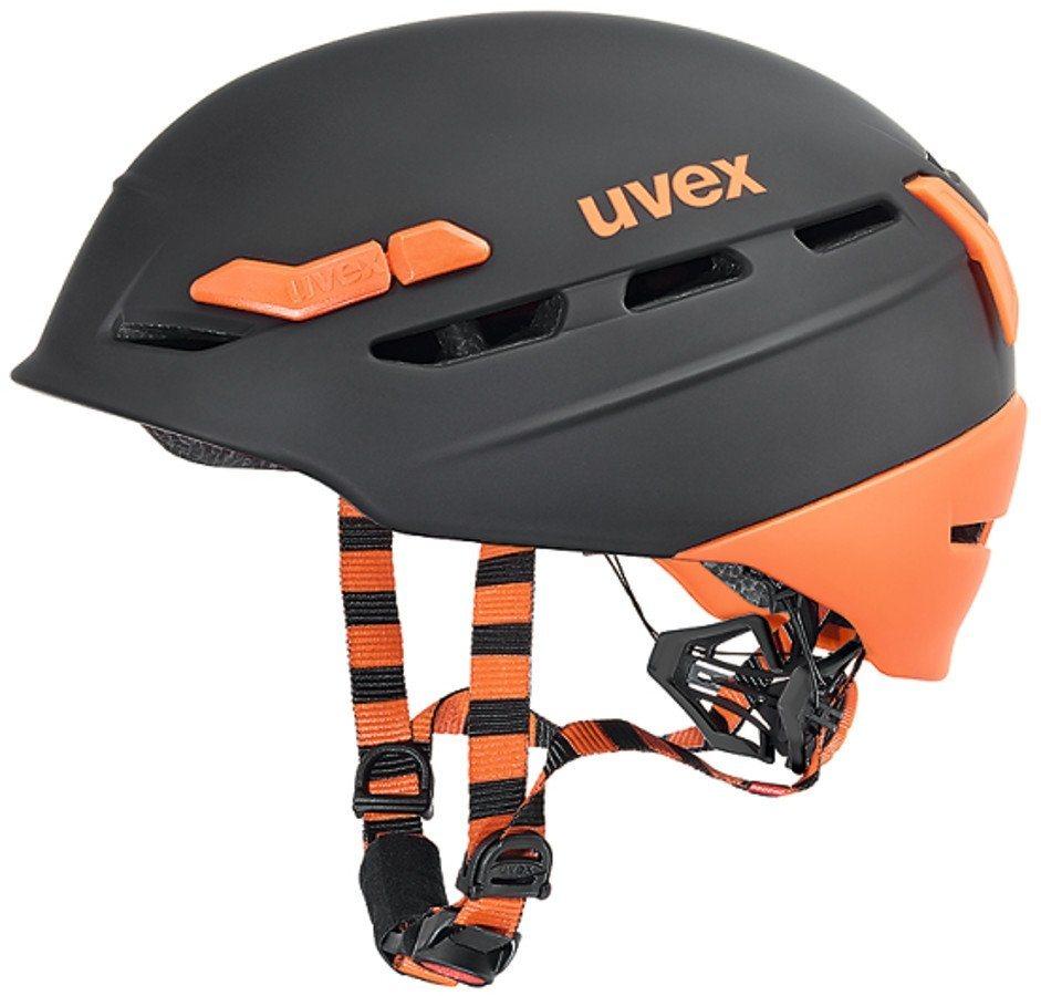 UVEX Ski - / Snowboardhelm »p.8000 tour Helmet« in schwarz