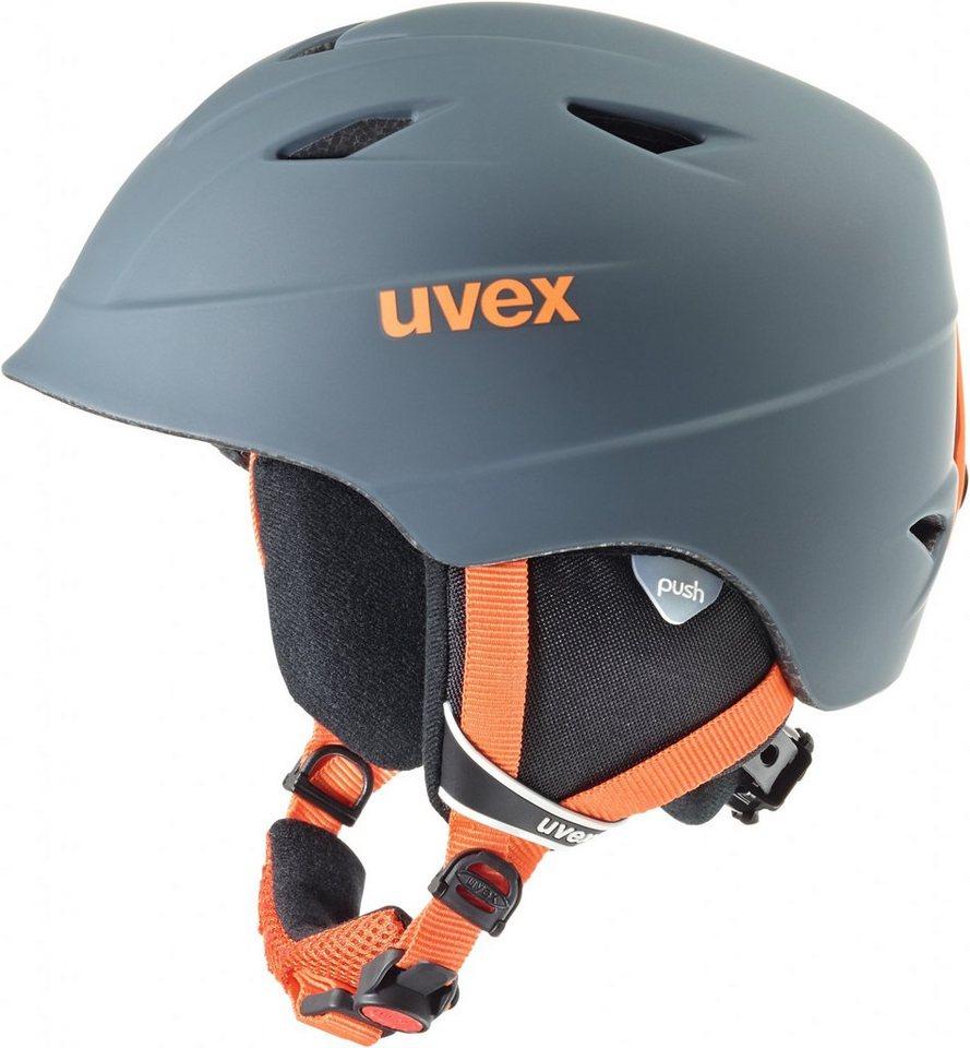 UVEX Ski - / Snowboardhelm »airwing 2 pro Helmet Junior« in grau