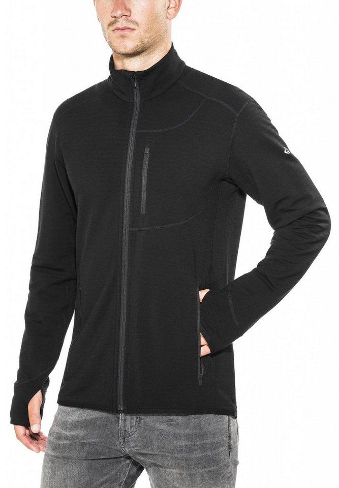 Icebreaker Pullover »Descender LS Zip Shirt Men« in schwarz