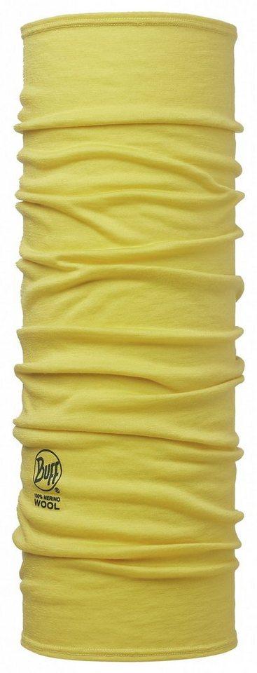 Buff Accessoire »Merino Wool Neckwarmer« in gelb