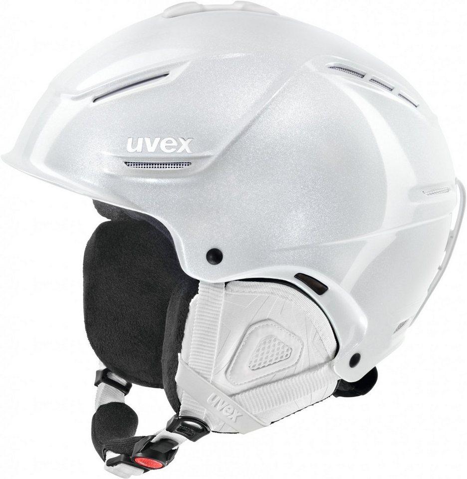 UVEX Ski - / Snowboardhelm »p1us pro WL Helmet Women« in weiß