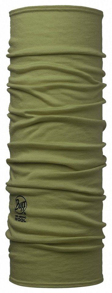 Buff Accessoire »Merino Wool Neckwarmer« in oliv