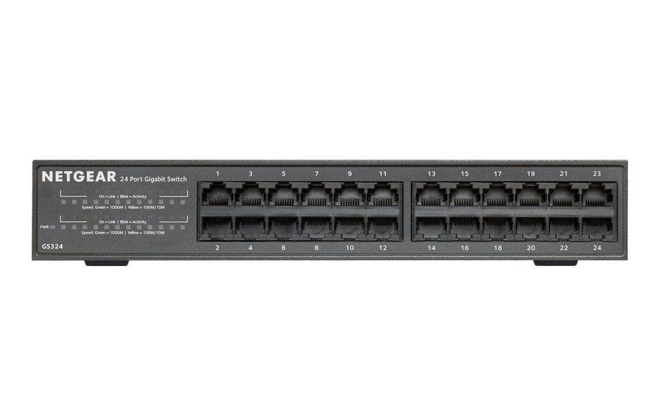 Netgear Switch »24-PORT GB UNMANAGED SWITCH«