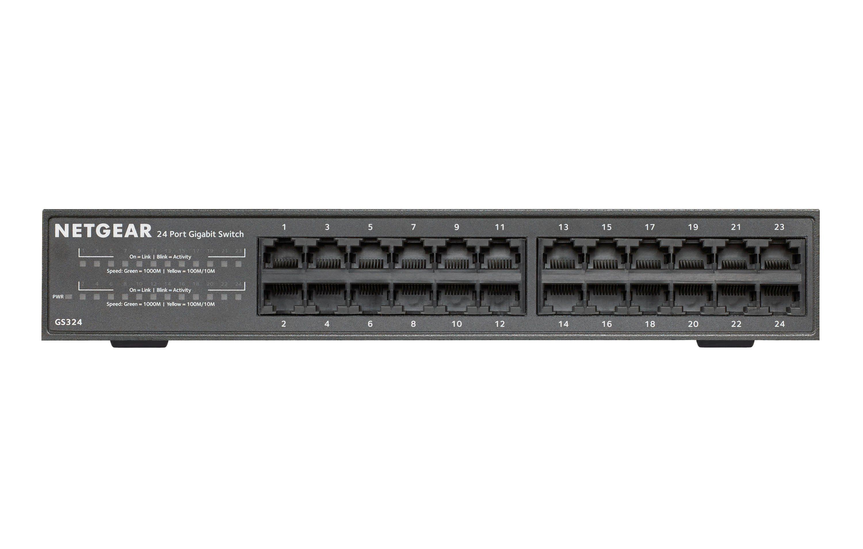 Netgear 24-Port-Gigabit-Ethernet-Unmanaged-Switch »GS324«