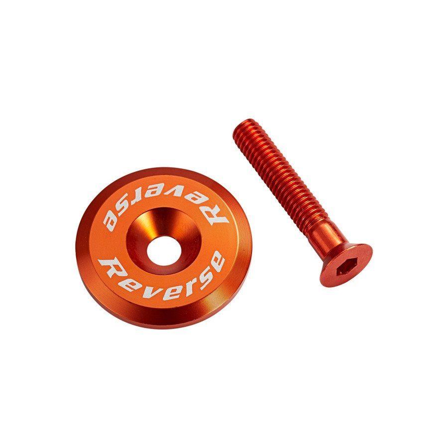 Reverse Fahrrad-Zubehör »Steuersatzkappe orange«
