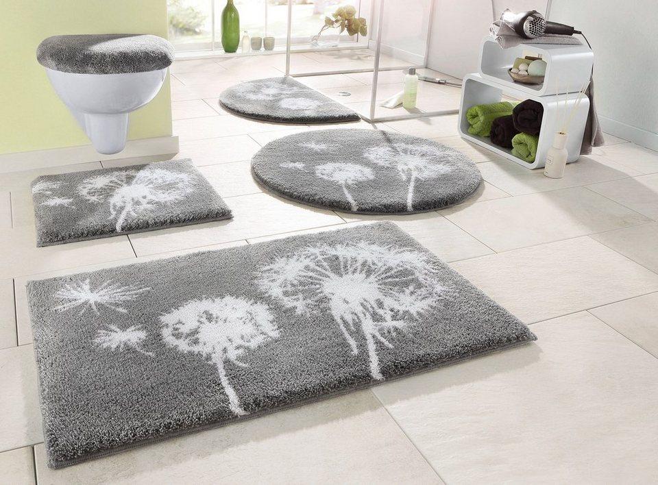 badematte grund pusteblume h he 20 mm. Black Bedroom Furniture Sets. Home Design Ideas