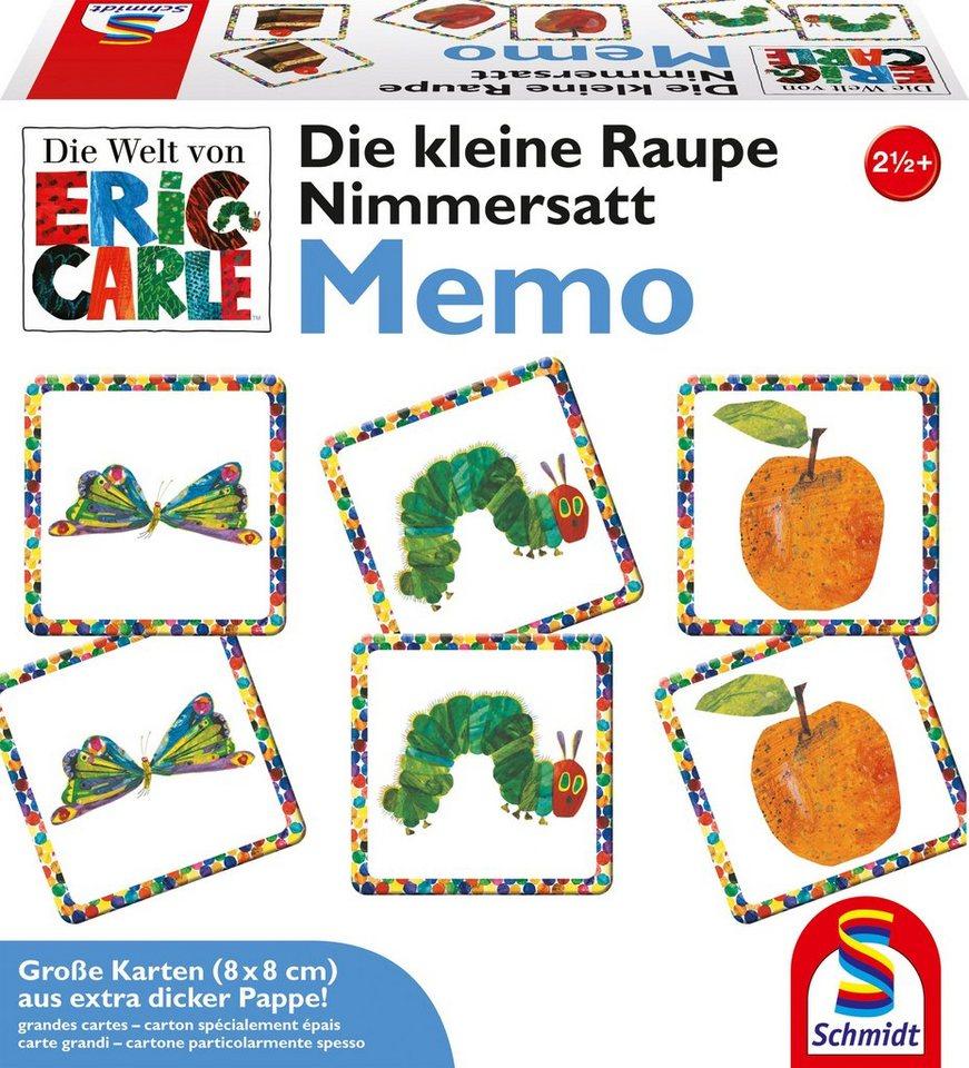 Schmidt Spiele Gedächtnisspiel, »Die kleine Raupe Nimmersatt® - Memo«