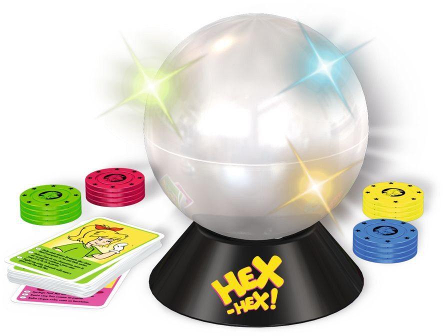 Schmidt Spiele Reaktionsspiel mit Licht- und Soundeffekten, »Bibi Blocksberg, Hexenkugel«