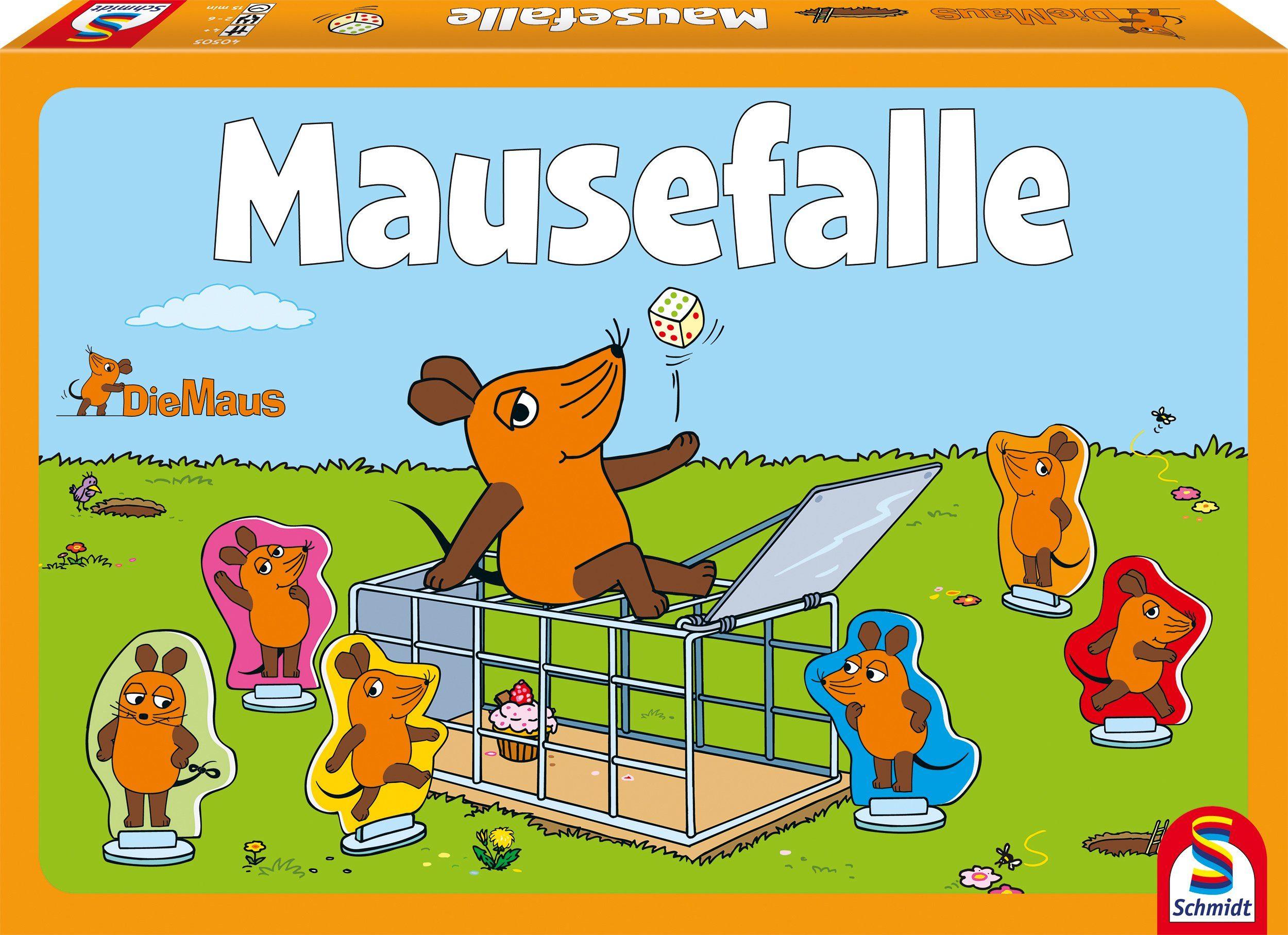 Schmidt Spiele Geselllschaftsspiel, »Die Maus, Mausefalle«