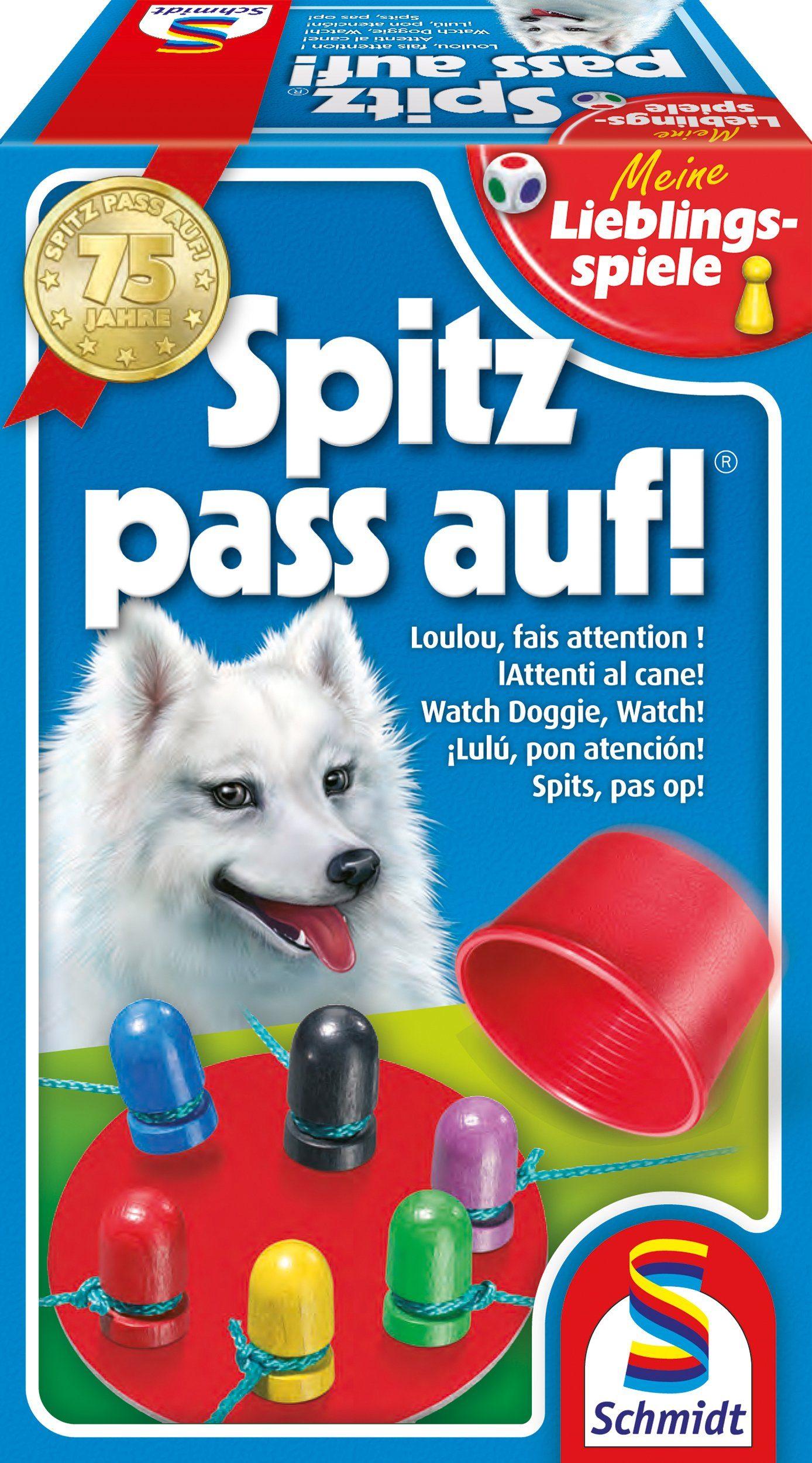 Schmidt Spiele Reaktionsspiel, »Meine Lieblingsspiele, Spitz pass auf!«