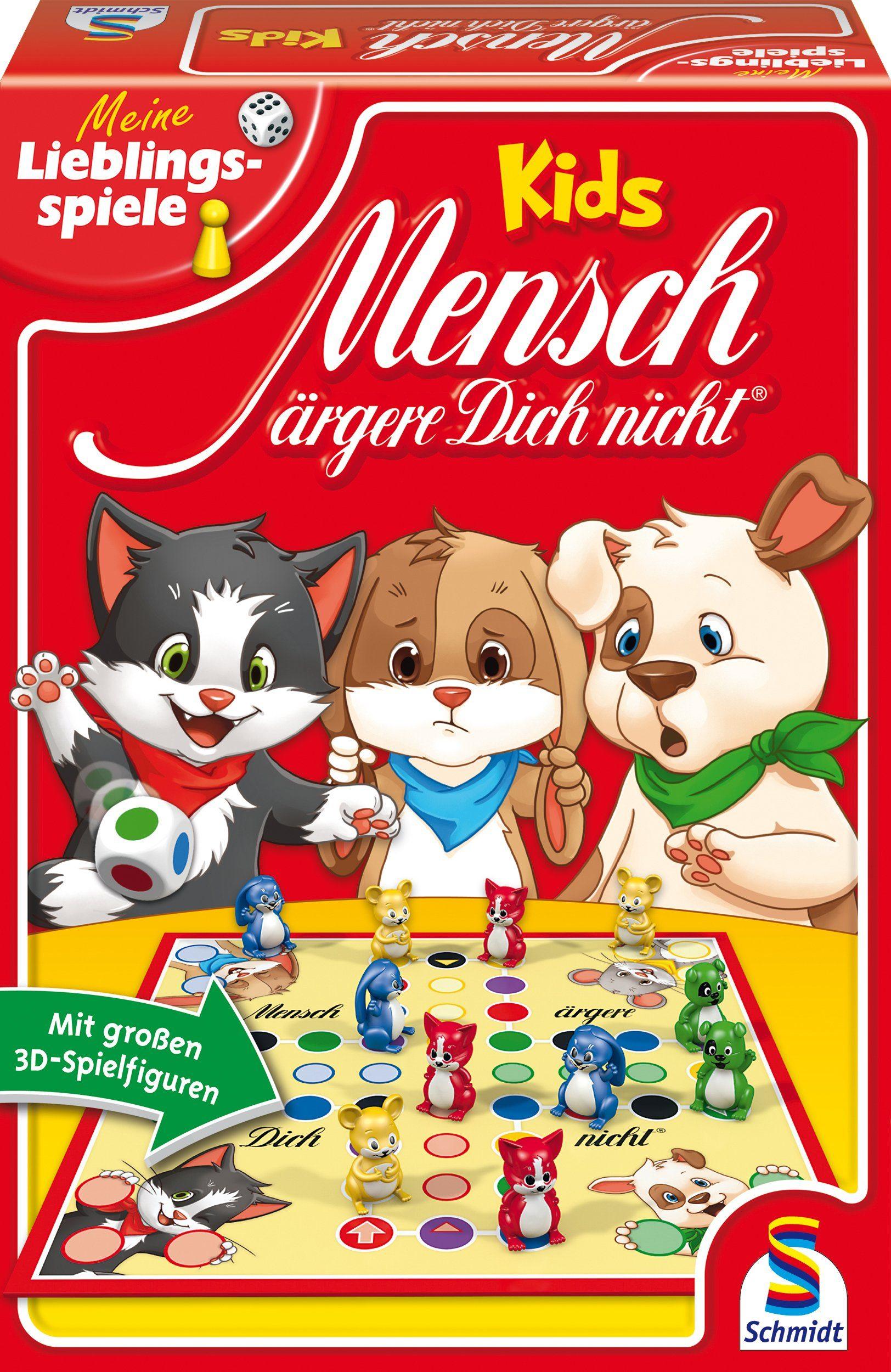 Schmidt Spiele Gesellschaftsspiel, »Mensch ärgere dich nicht® Kids«