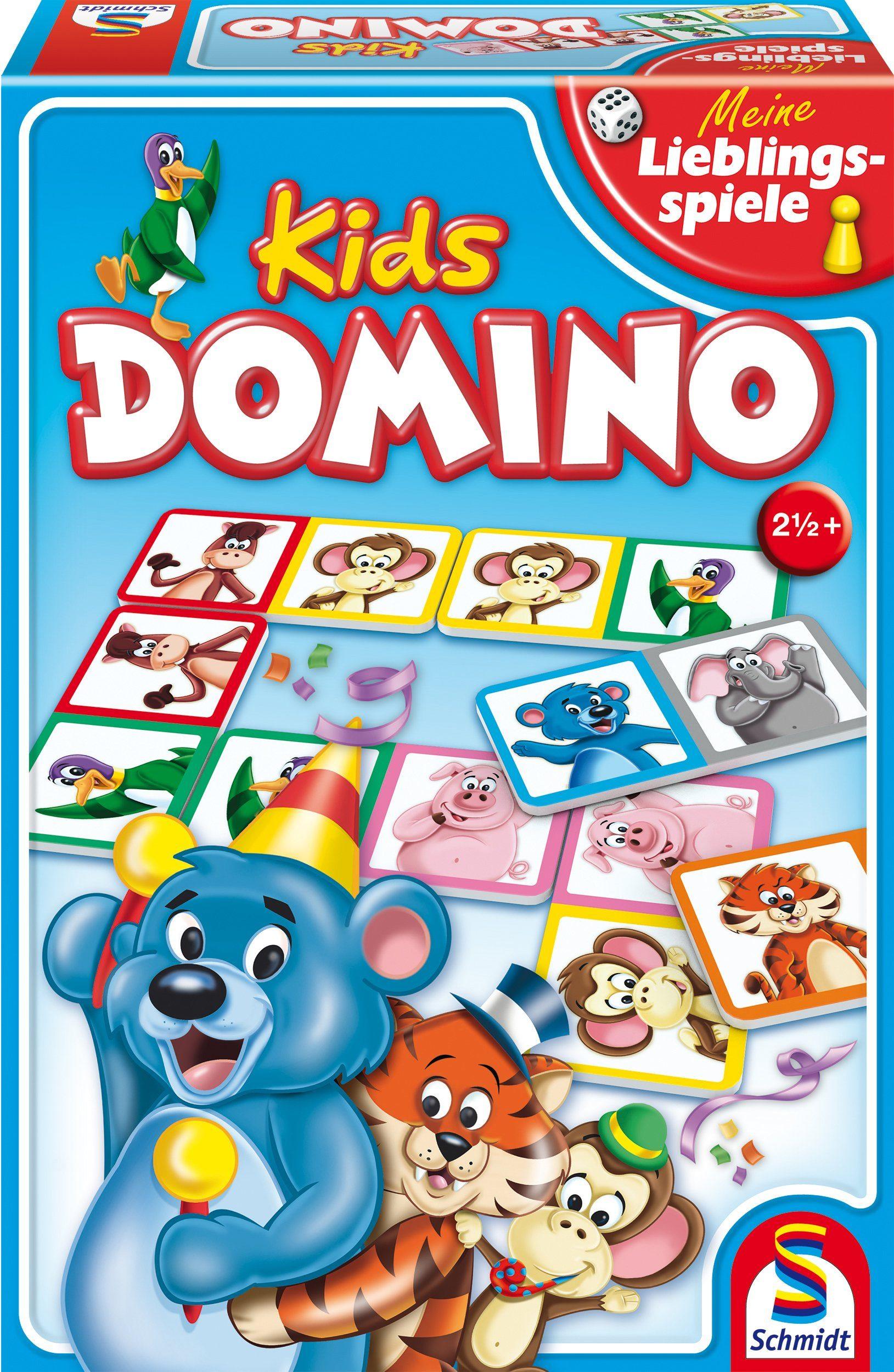 Schmidt Spiele Spieleklassiker, »Meine Lieblingsspiele, Domino Kids«
