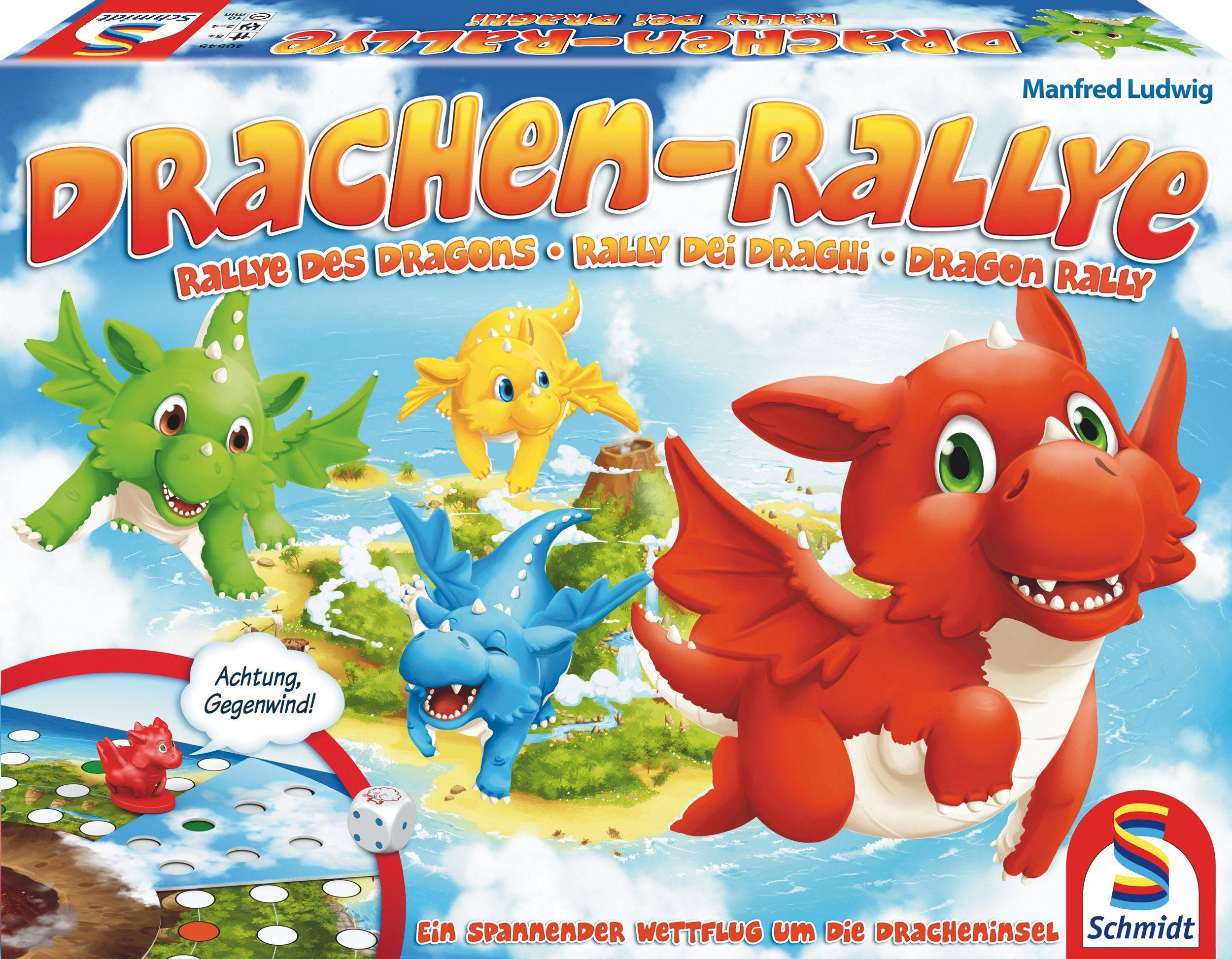 Schmidt Spiele Gesellschaftsspiel, »Drachen Rallye«