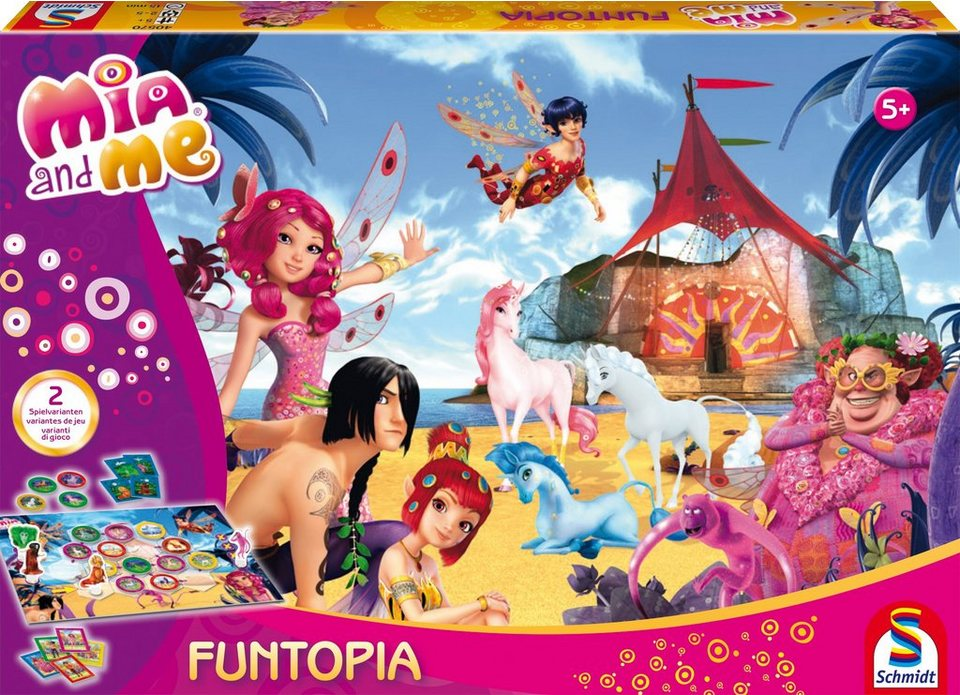Schmidt Spiele Gesellschaftsspiel, »Mia and Me, Funtopia«