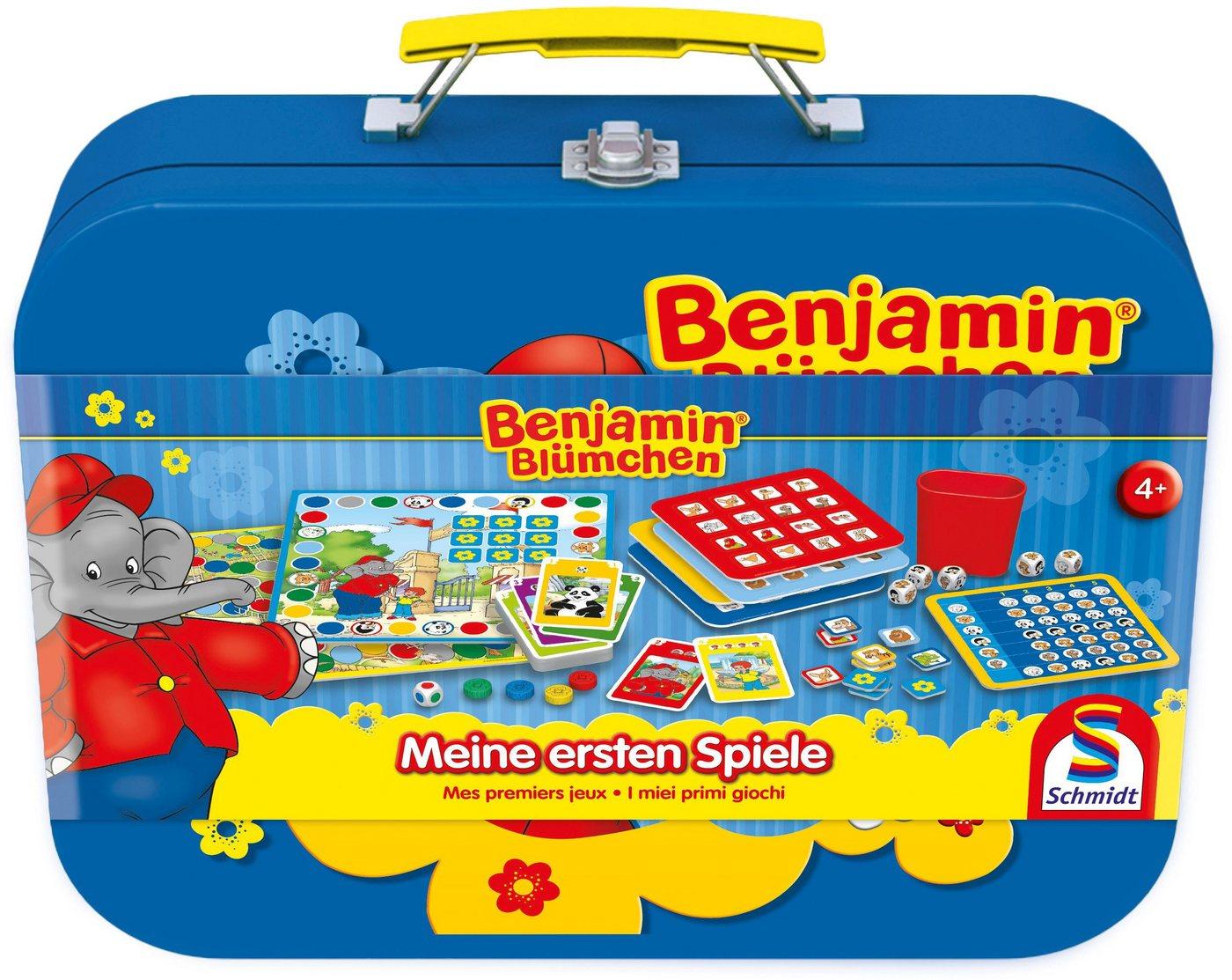 Schmidt Spiele Spielesammlung, »Benjamin Blümchen, Meine ersten Spiele« - Preisvergleich