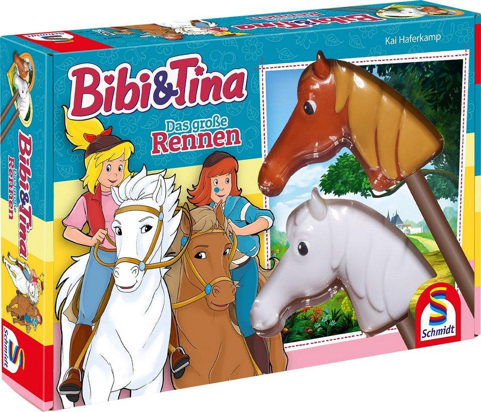Schmidt Spiele Aktionsspiel, »Bibi und Tina, Das große Rennen«