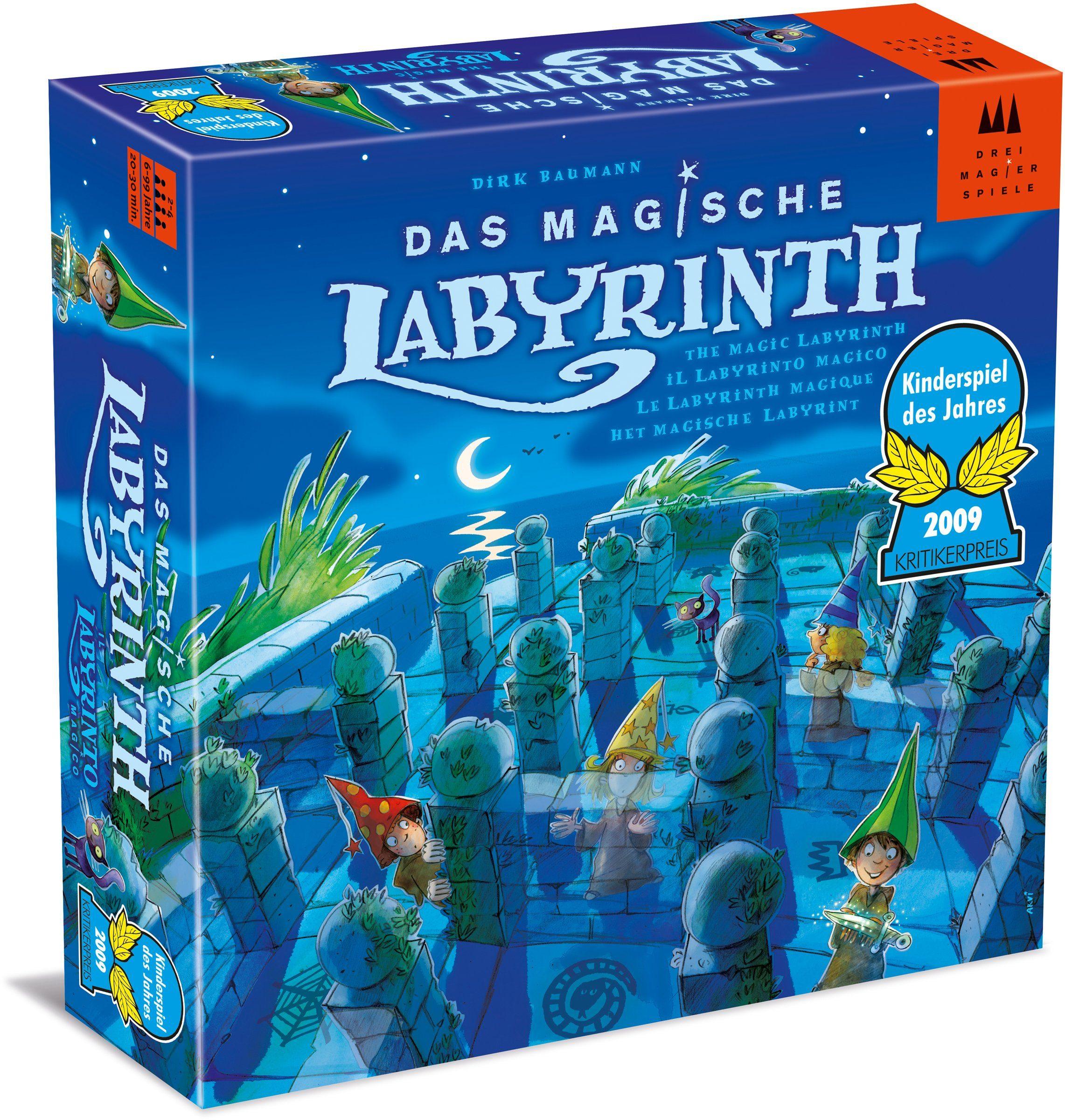 Drei Magier Spiele Brettspiel, »Das magische Labyrinth«